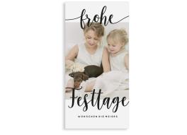 """Weihnachtskarten """"Wunsch"""" (Postkarte DL)"""