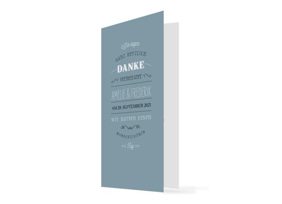 """Danksagungskarten Hochzeit """"Rotterdam"""""""