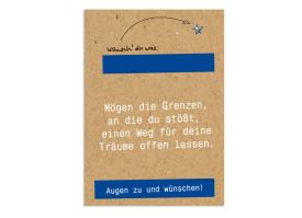 Neujahrskarten Wünsche Blau