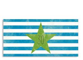 Einladung zum 30. Vintage Star (Postkarte, mit 2 Fotos)
