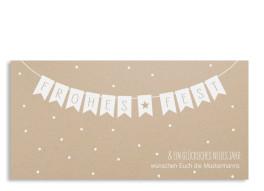 Weihnachtspostkarte Weihnachtskette