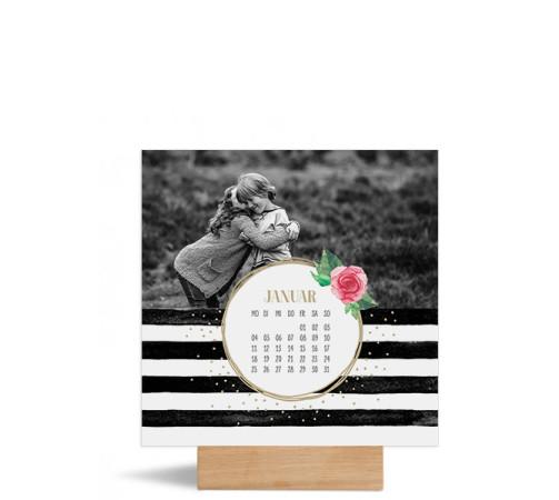 """Foto-Tischkalender """"Rosenkranz""""  150x150 mm"""