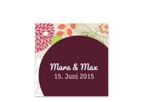 Geschenkanhänger zur Hochzeit Lissabon Bordeaux