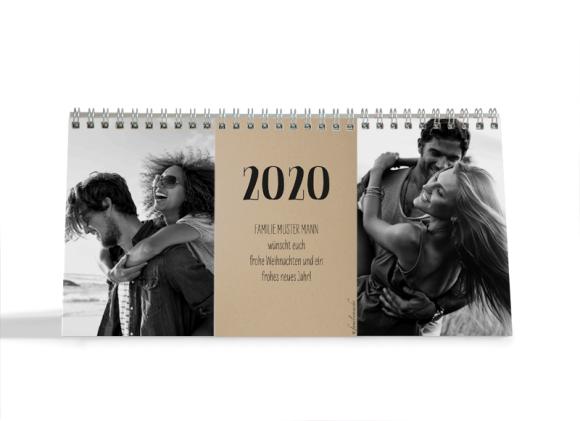 Choose your Pics Fotokalender, Motiv: Naturküche, Innenansicht, Farbvariante: schwarz