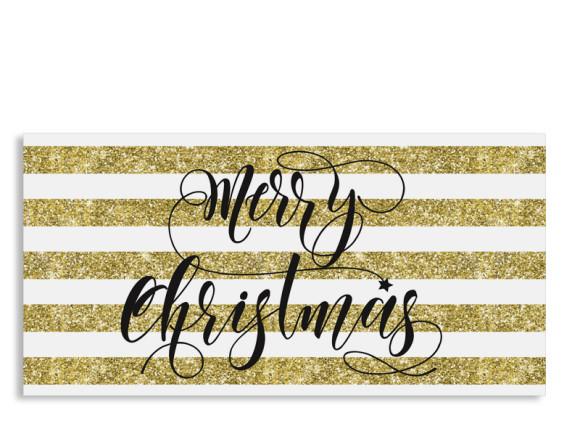 Firmen-Weihnachtskarte Copper (Postkarte DL quer)