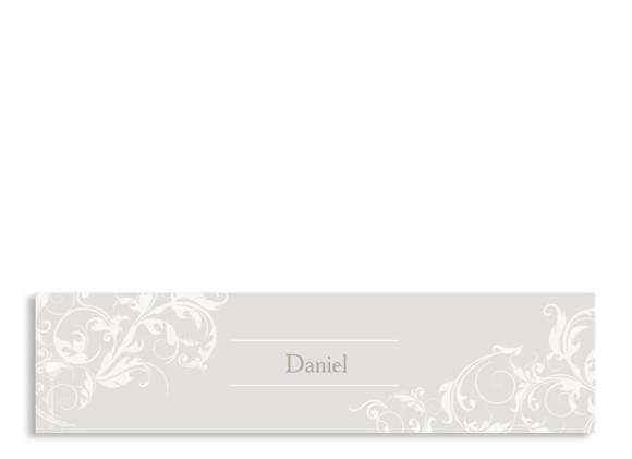 Servietten-Banderole zur Hochzeit Dubai