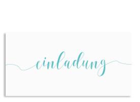 Calligraphy Türkis