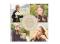 quadratische Danksagungskarte mit Fotos, Motiv: Zauber KD, Vorderseite, Farbvariante: weiss