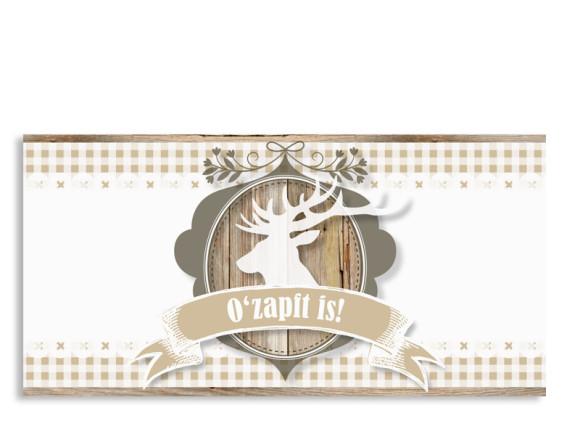 Einladungskarte Wiesn (Postkarte)