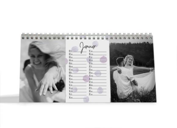 "Choose your Pics Fotokalender ""Pünktchen"""