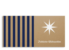 Firmen-Weihnachtskarte Geometrics (Postkarte)