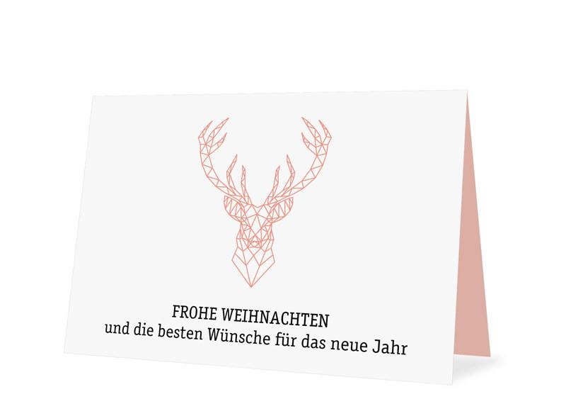 weihnachtskarte f r firmen online gestalten origami. Black Bedroom Furniture Sets. Home Design Ideas