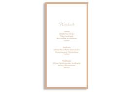 Menükarten zur Hochzeit Verona (DIN Lang-Karte)