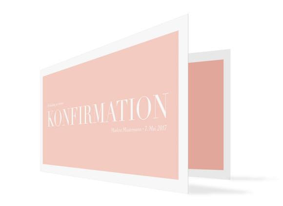 Einladung zur Konfirmation Nizza