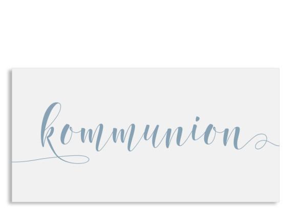 Einladung zur Kommunion Calligraphy