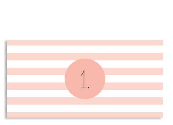 Einladungen zur Einschulung Lucky Stripes
