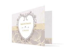 Hochzeitsdanksagungen Madrid (Klappkarte)