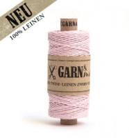 Leinen-Zwirn, puder-rosa