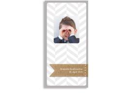 Konfirmationsdanksagung Pattern (Postkarte hoch)