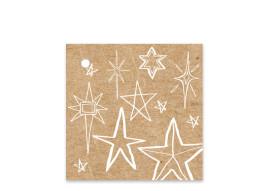 Geschenkanhänger Sternenhimmel