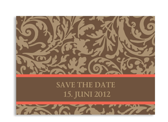 Save-The-Date-Hochzeitskarte Rokko (Postkarte A6)