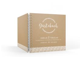 """Gästebuch """"Gibraltar"""" (20 x 20 cm)"""