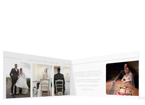 Innenansicht Hochzeitskarte Boston, Farbversion: hellgrau