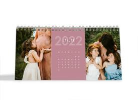 """Choose your Pics Fotokalender """"Klar""""  altrosa"""
