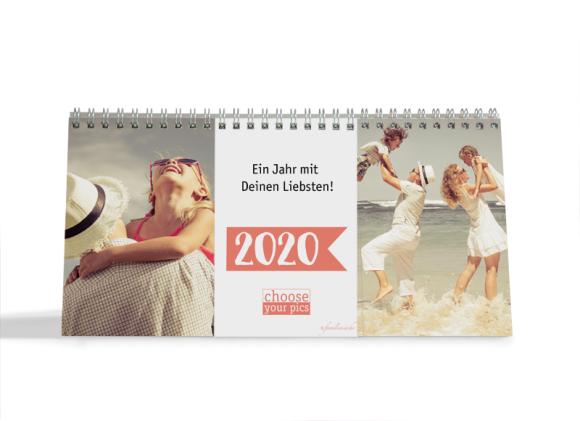 Choose your Pics Fotokalender, Motiv: Fähnchen, Innenansicht, Farbvariante: apricot