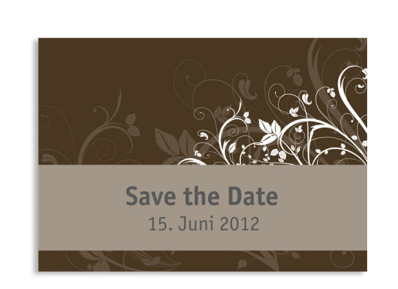 Save-The-Date-Card Wien (Postkarte A6)