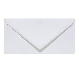 Umschlag DL (220 x 110 mm), pearly white
