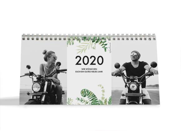 Choose your Pics Fotokalender, Motiv: Greenery, Innenansicht, Farbvariante: schwarz