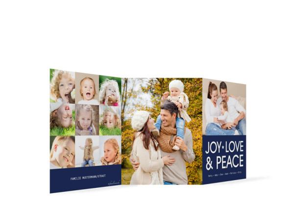 Weihnachtskarten Joy