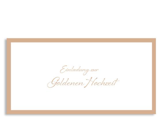 Einladung zur Goldhochzeit Verona (Postkarte)