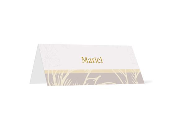 Tischkarten Madrid (Klappkärtchen)