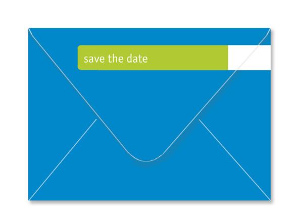 Umschlag Rückseite, Adressbanderole, Motiv Farbfläche, Farbversion: apfelgrün
