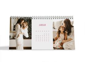 """Choose your Pics Fotokalender """"Allezeit""""  altrosa"""