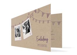 """Einladungskarten Geburtstag """"Lebensweg"""""""
