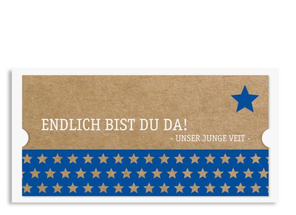 Karten zur Geburt Viola/Veit (Postkarte)