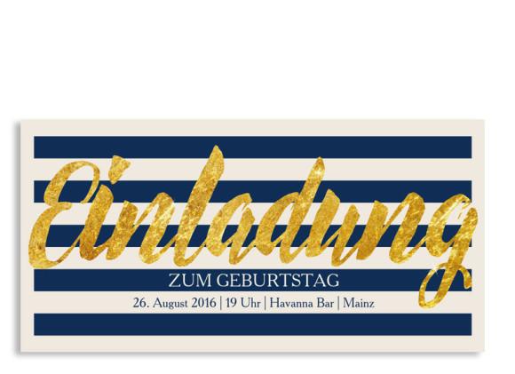 Einladungskarten zum Geburtstag Monaco