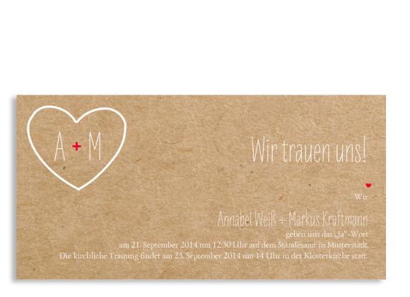 Einladung zur Hochzeit Luzern (Postkarte)