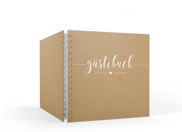 "Gästebuch ""Malaga"" (20 x 20cm)"