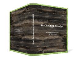 Gästebuch Alpenglühen zur Hochzeit (Ringbuchordner DIN A4)