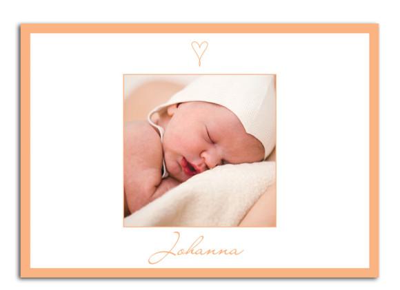 Babykarten Johanna/Jacob (Postkarte)