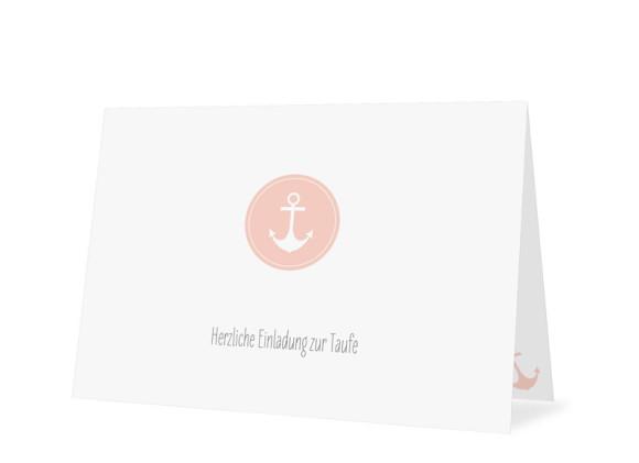 Taufkarte Pure Anchor
