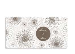 Danksagungskarte Mandala (Postkarte)