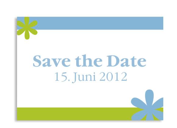Save-The-Date-Hochzeitskarte Berlin (Postkarte A6)