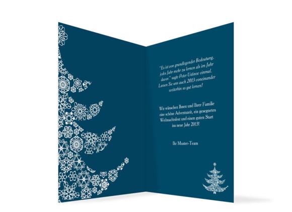 firmenkarten selbst gestalten weihnachtsbaum karte zu. Black Bedroom Furniture Sets. Home Design Ideas