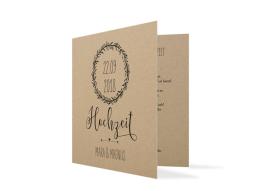 Einladungskarten zur Hochzeit Nature