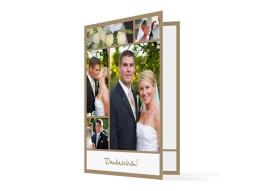Dankeskarte Hochzeit Glasgow (Klappkarte)